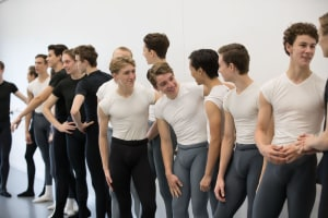 Let's hear it for the boys... at Queensland Ballet Academy