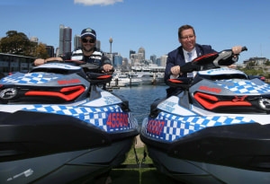 NSW police do more with Sea-Doo