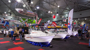 High tech design on display at the Brisbane Boat Show