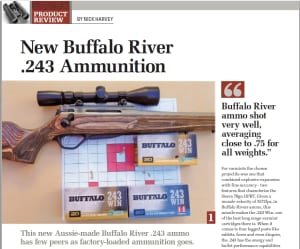 NEW Buffalo River .243 Ammunition