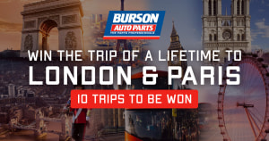 Burson offers chance to win trip to London and Paris