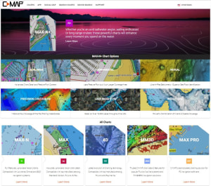 C-MAP announces launch of new website for recreational boaters