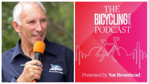 Latest Podcast: Phil Liggett, The Voice Of Cycling On The Bicycling Australia Cinettica Podcast