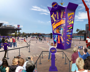 Cadbury to build world's biggest Favourites box