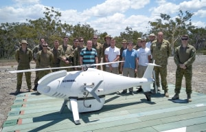 Schiebel UAS demonstrates new payloads to Army