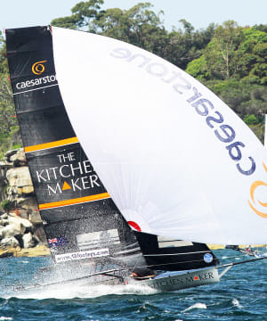 New team challenges for Australian 18 Footer Championship
