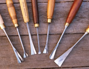 Favourite carving chisels