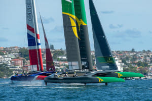 Just a single point separates Japan and Australia after first day of SailGP