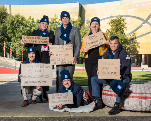Chief Commissioner of ATSB Sleeps Out for Charity