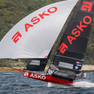 Asko Appliances new 18ft skiff NSW champion