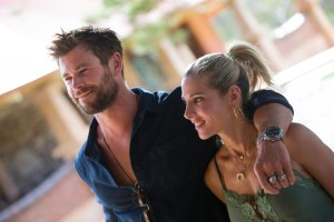 Chris Hemsworth makes a whistle-stop at Jacob's Creek winery