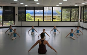 Discipline in today's dance class