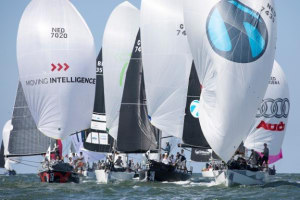 Sunny opener for The Hague Offshore Sailing Worlds