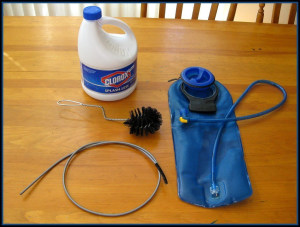How to... clean a water bladder