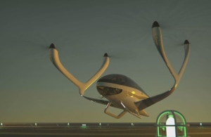 FRIDAY FLYING VIDEO: Clover eVTOL