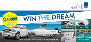 """Win the Dream"" with Club Marine"