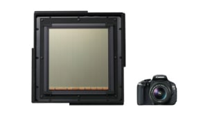 Canon showcases CMOS sensor that's 40x as big as a 35mm full frame sensor