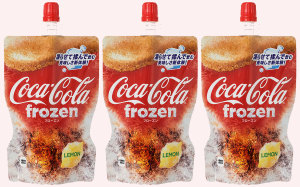 Coca-Cola chills out with freezable pouches