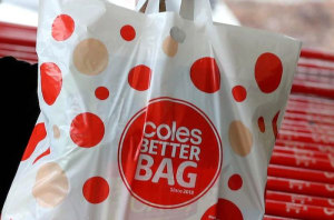 Coles backtracks on plastic bags