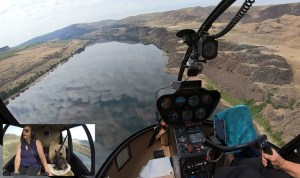 FRIDAY FLYING VIDEO: Columbia River R44