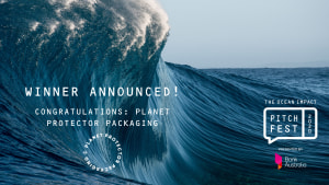 Planet Protector Packaging wins Ocean Impact Pitchfest 2020