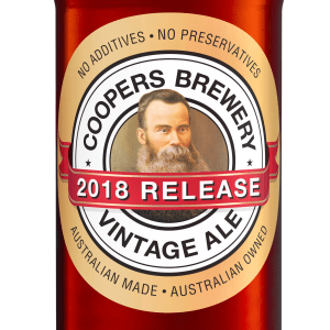 Coopers launches its 2018 Vintage Ale with new look