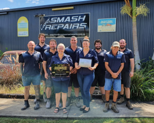 Cooroy Smash Repairs achieves I-CAR Gold