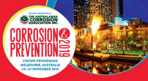 Melbourne to host Corrosion and Prevention 2019