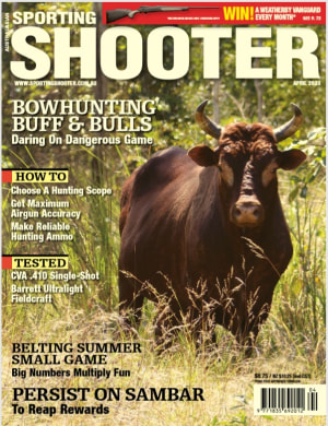 Sporting Shooter April issue is coming soon
