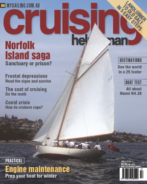 Two facets on the cost of cruising in the July Cruising Helmsman