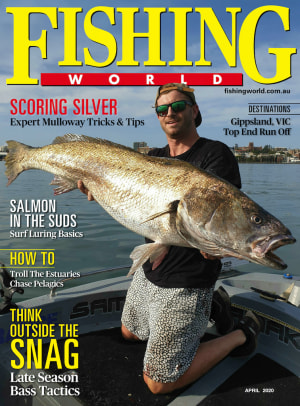 PREVIEW: Fishing World April edition