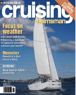 Aptly-named August issue of Cruising Helmsman is out