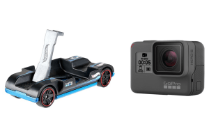 Hot Wheels teams up with GoPro to offer 'zoom in' mountable toy car