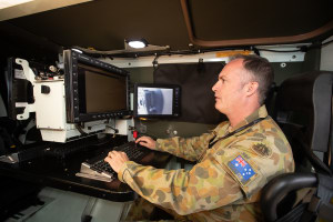 Boeing showcases latest battlefield comms capability
