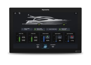 Raymarine Axiom MFD now compatible with CZone