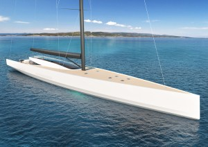 Philippe Briand SY200 superyacht concept delivers a true zero emissions sailing experience