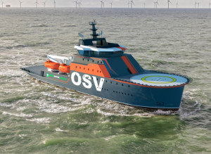 Damen develops new OSV concept vessel