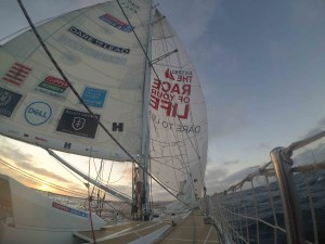 Dare To Lead's maiden victory in Clipper Race