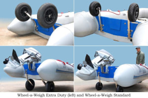 Move small boats easily and safely with Wheel-A-Weigh