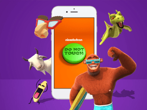 Nickelodeon reveals first-ever AR app
