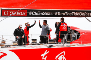 Dongfeng comes from behind to win Sky Ocean Rescue In-Port Race