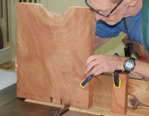 Dovetails on a Tablesaw: Making a bench seat