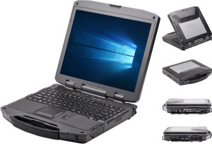 DreamBook Rugged R13 laptop from Pioneer Computers