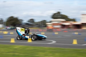 Monash students' autonomous race car