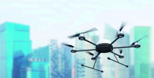 The drones are coming with fast food and other supplies