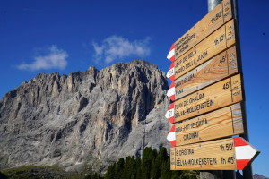 Ancient Dolomites, every bushwalker's dream
