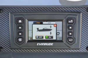 Evinrude's iSteer and iTrim systems