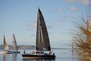 No wind, no racing in chilly Hobart