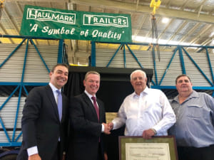 Haulmark opens new Adelaide facility