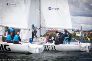 Lucy Macgregor wins second World Match Racing Championship